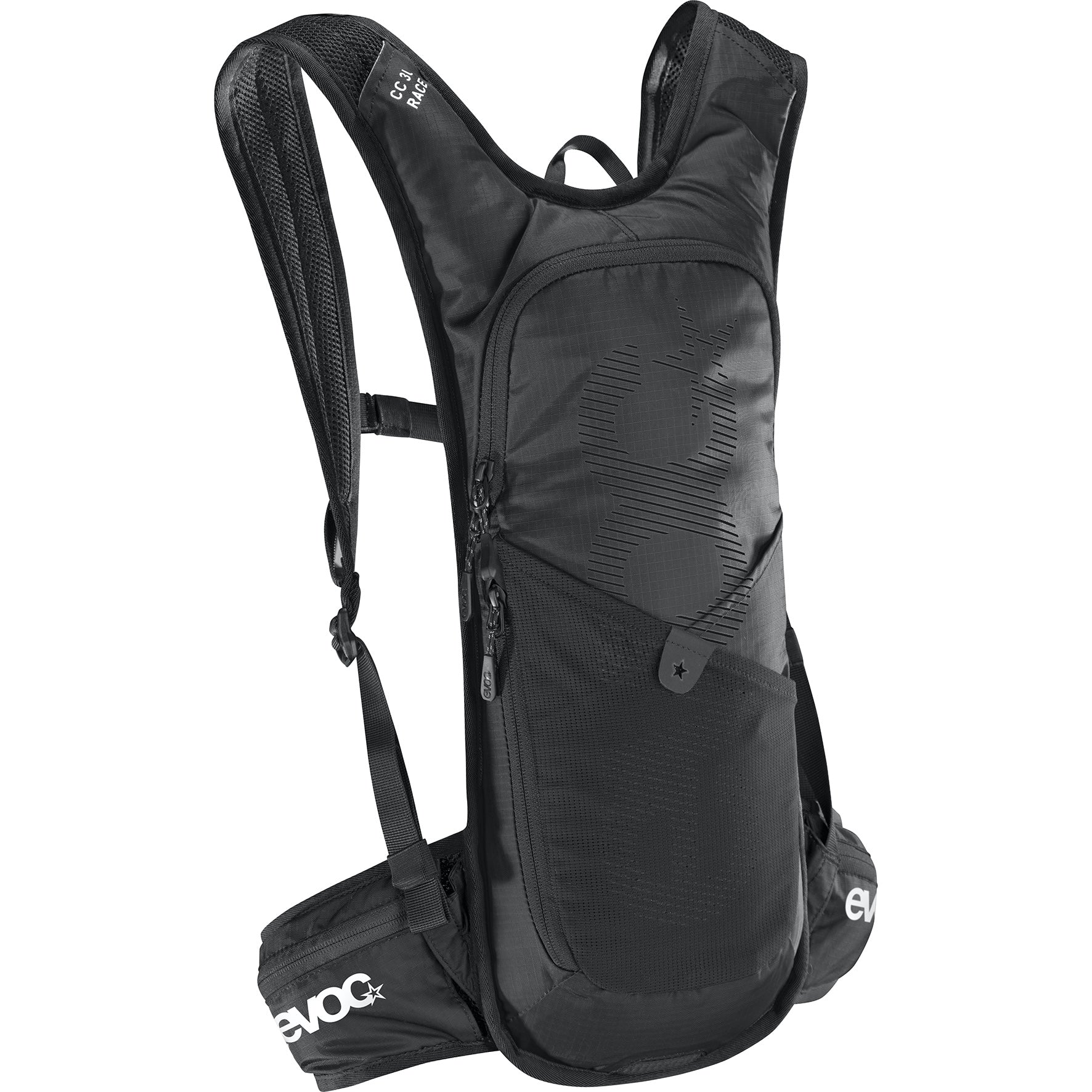 Mochila Evoc Cc 3l Race+2l Bladder Black