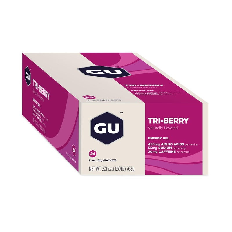 Gel GU energy Tri Berry - Aqua Zone