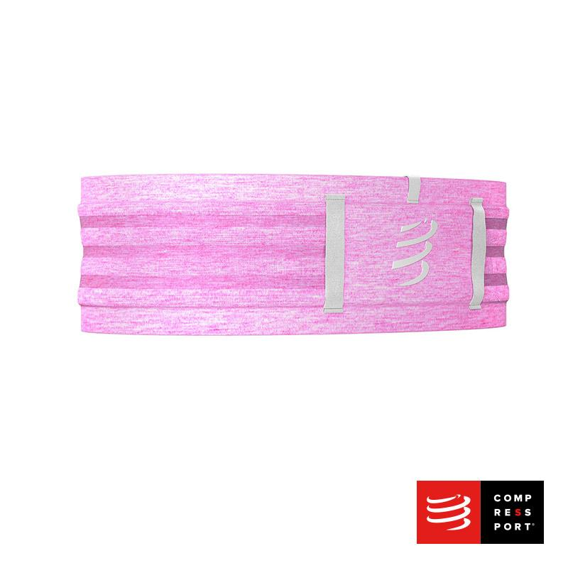 Nuevo Free Belt Pro Compressport Pink/Melange - Aqua Zone