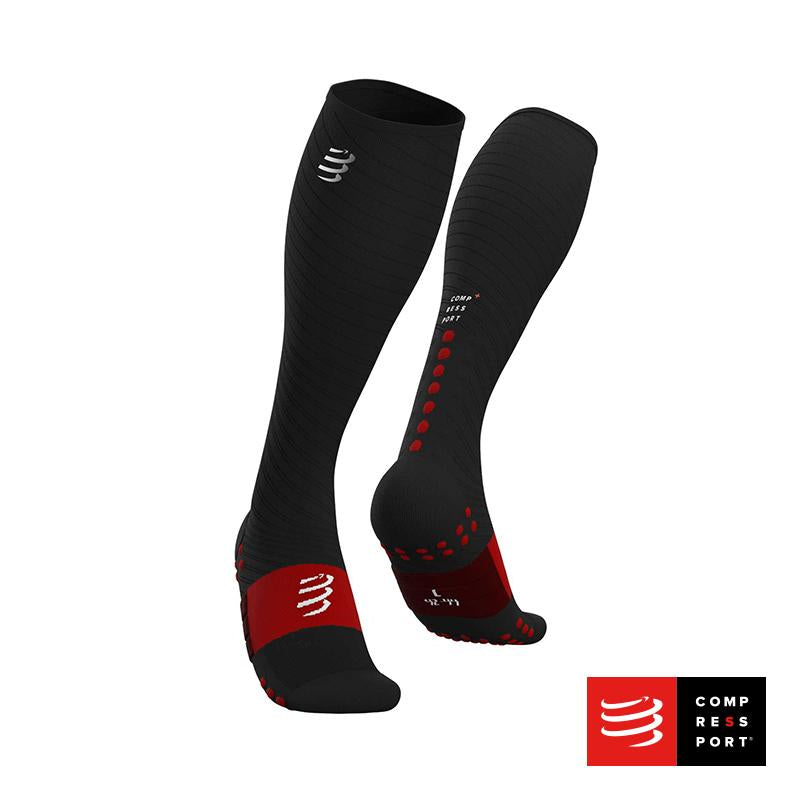 Nuevo Full Socks Recovery Negro Compressport - Aqua Zone