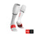 Nuevo Full Socks Run Blanco Compressport - Aqua Zone