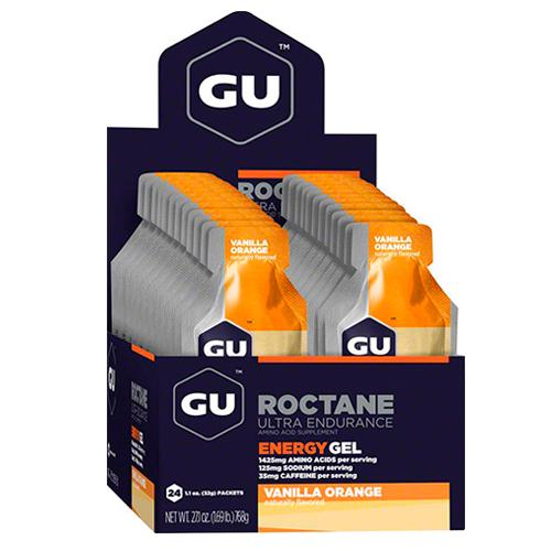Gel GU energy Roctane Vanilla Orange - Aqua Zone