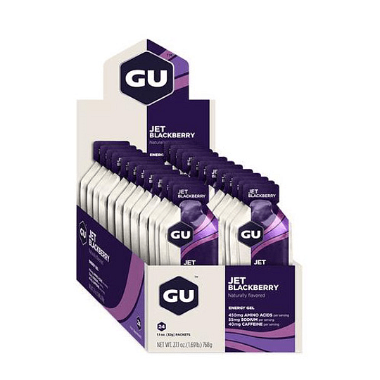 Gel GU energy Jet Blackberry - Aqua Zone