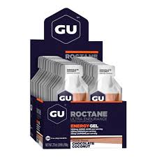 Gel Deportivo GU Roctane Chocolate Coconut - Aqua Zone