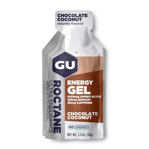 Gel GU energy Roctane Chocolate Coconut - Aqua Zone