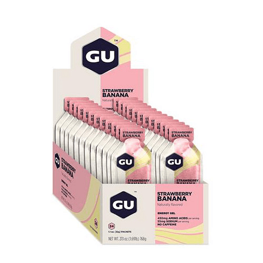 Gel GU energy Strawberry Banana - Aqua Zone