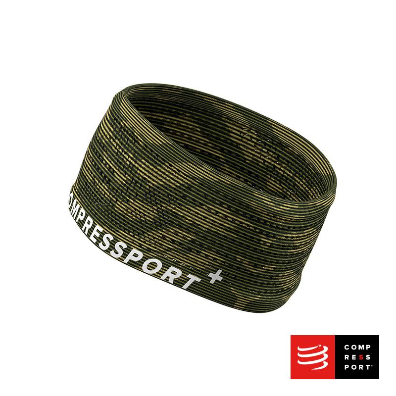 Nuevo Headband On/Off Compressport Camo - Aqua Zone
