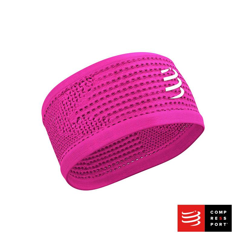 Nuevo Headband On/Off Compressport Rosado - Aqua Zone