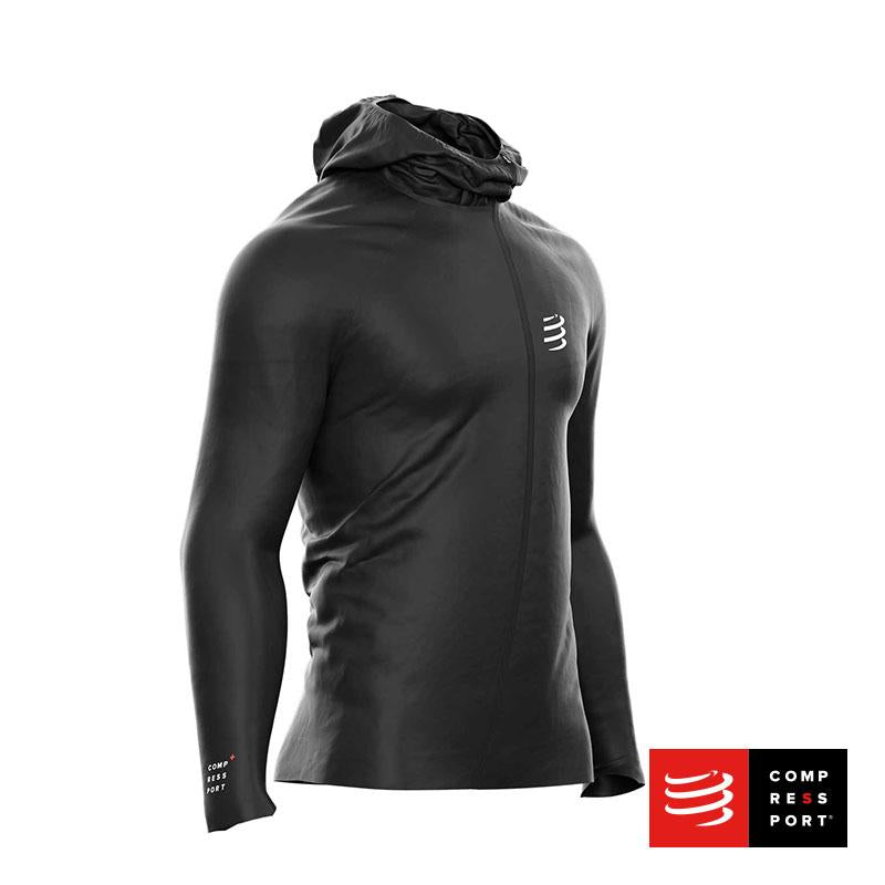 Nuevo Hurricane Waterproof Jacket 10/10 Compressport - Aqua Zone