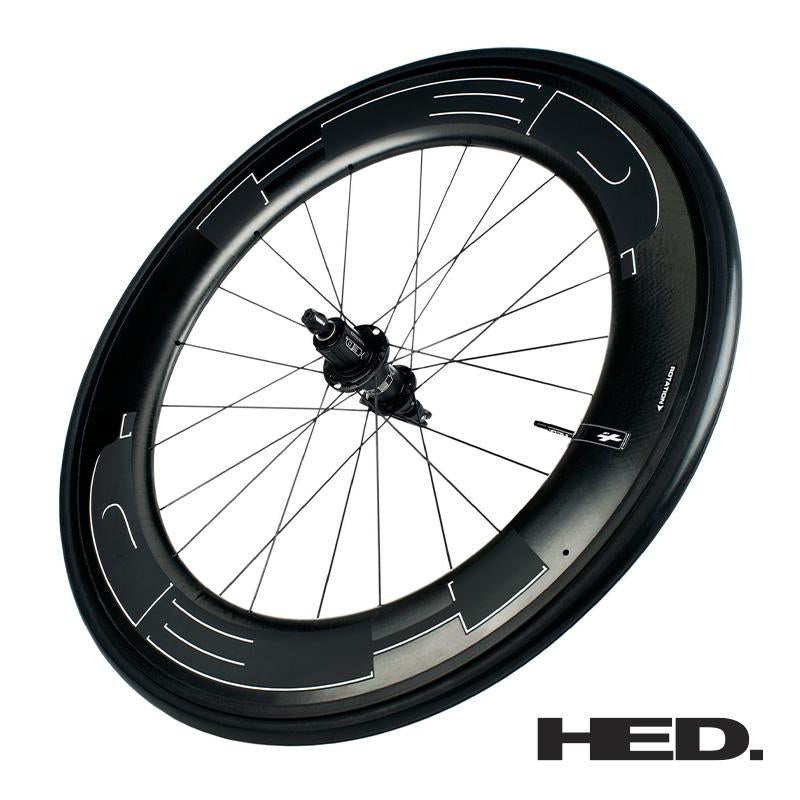 Jet Plus Black 9 - Trasera - Clincher