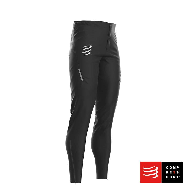 Nuevos Pantalones Hurricane Waterproof 10/10 Negros Compressport - Aqua Zone