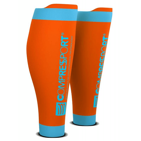 Gemeleras Compressport R2V2 - Aqua Zone