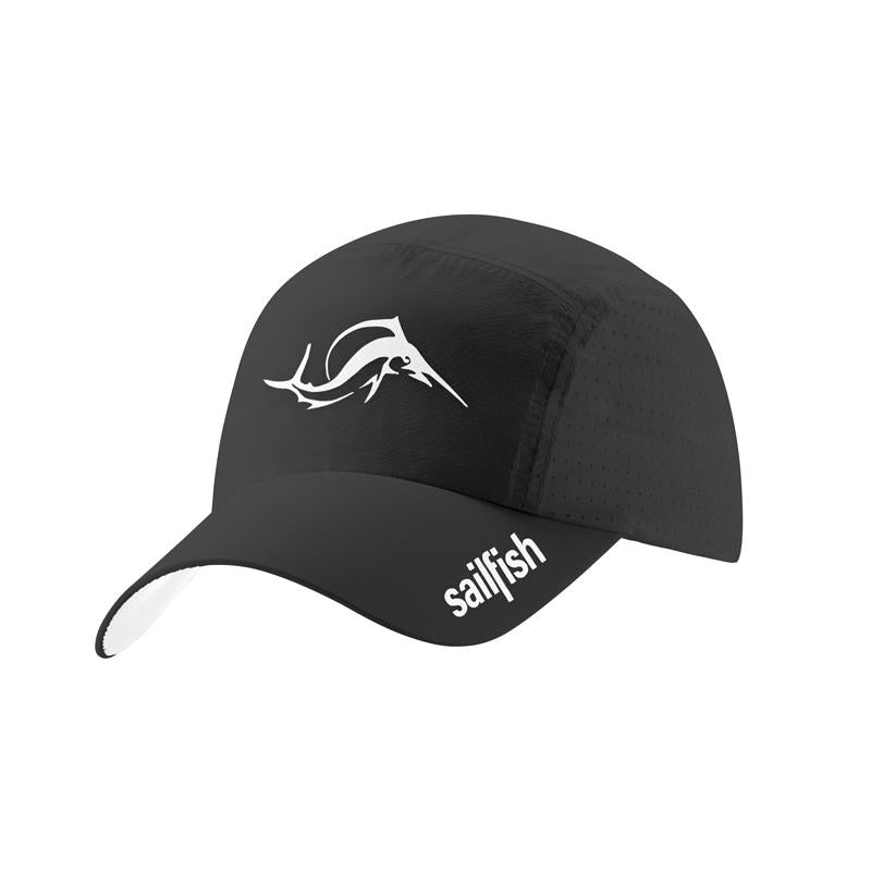 Running Cap Negro Sailfish - Aqua Zone