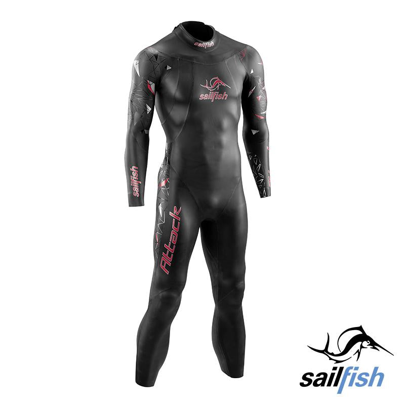 Traje Neopreno Attack Sailfish - Aqua Zone