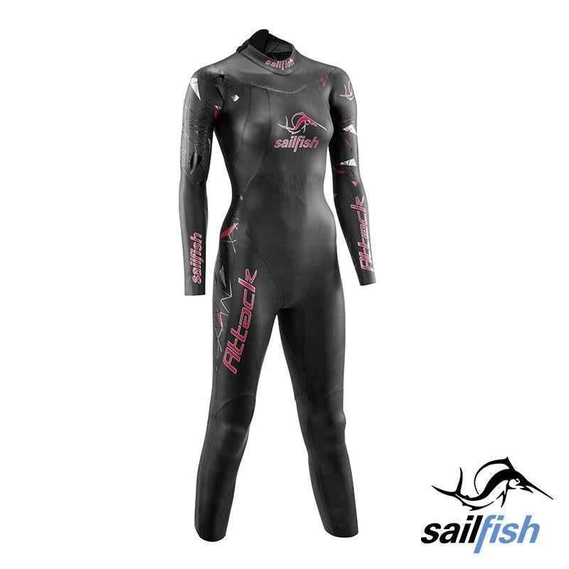 Traje Neopreno para Mujer Attack Sailfish - Aqua Zone
