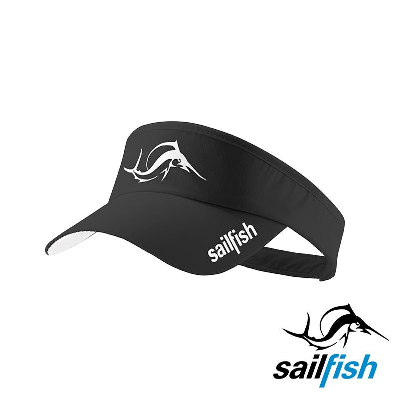 Visera v2 Negra Sailfish - Aqua Zone