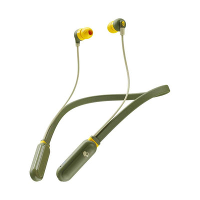 Audífonos Skullcandy INKD+ Wireless In-Ear Moss/Olive - Aqua Zone