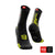 Calcetines COMPRESSPORT Pro Racing Socks BIKE V3 Negro / Amarillo - Aqua Zone
