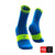 Calcetines COMPRESSPORT Pro Racing Socks Run High Ultralight V3 Fluo/Blue - Aqua Zone