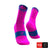 Calcetines COMPRESSPORT Pro Racing Socks Run High Ultralight V3 Fluo/Pink - Aqua Zone