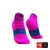 Calcetines COMPRESSPORT Pro Racing Socks Run Low Ultralight V3 Fluo/Pink - Aqua Zone