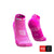 Calcetines COMPRESSPORT Pro Racing Socks Run Low V3 Pink/Melange - Aqua Zone