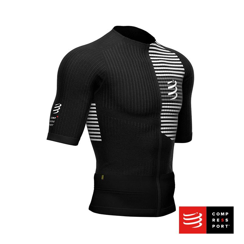 Nuevo Tri Postural SS Top Negro Compressport - Aqua Zone