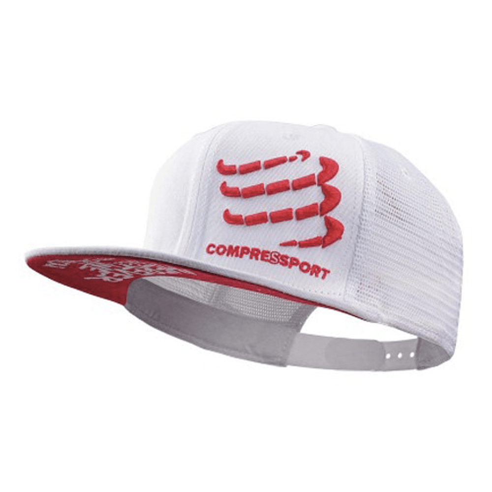 Gorro Trucker cap Compressport - Aqua Zone