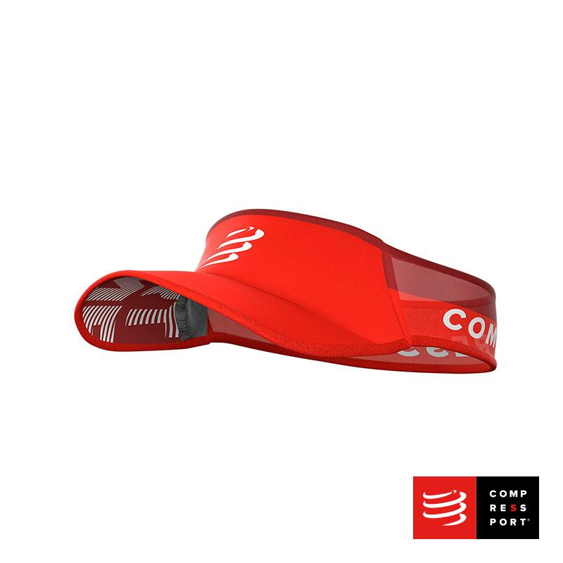 Nueva Visera Ultralight Roja Compressport - Aqua Zone