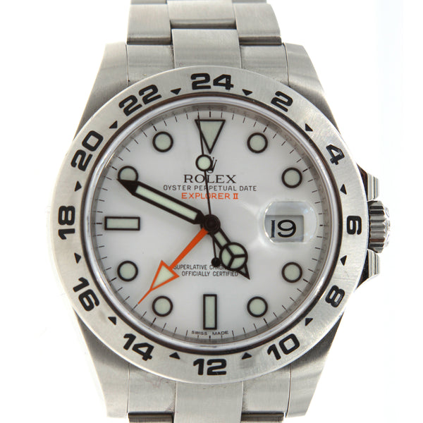 ROLEX EXPLORER II REFERENCE# 216570 G SERIAL LARGE VERSION