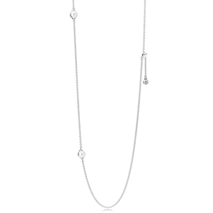 Luminous Dainty Droplets, White Crystal Pearls - Giorgio Conti Jewelers