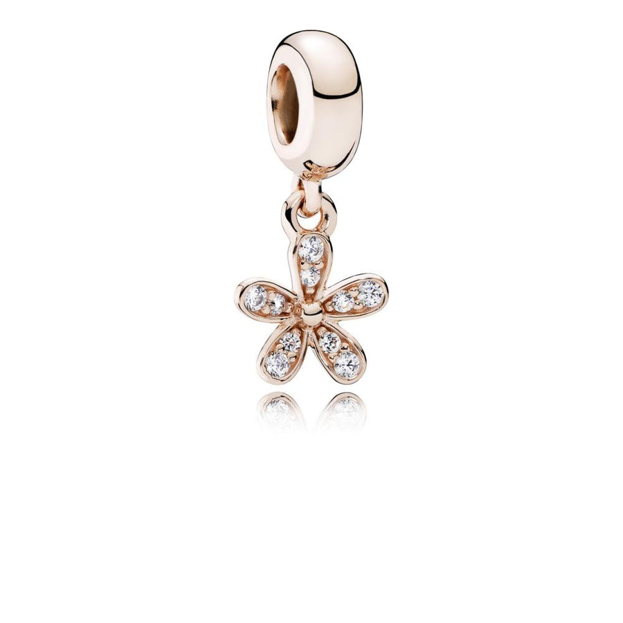 Pandora Rose Dangle Dazzling Daisy with Clear Cubic Zirconia - Giorgio Conti Jewelers