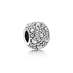 Charm Shimmering Droplets with Clear Cubic Zirconia - Giorgio Conti Jewelers