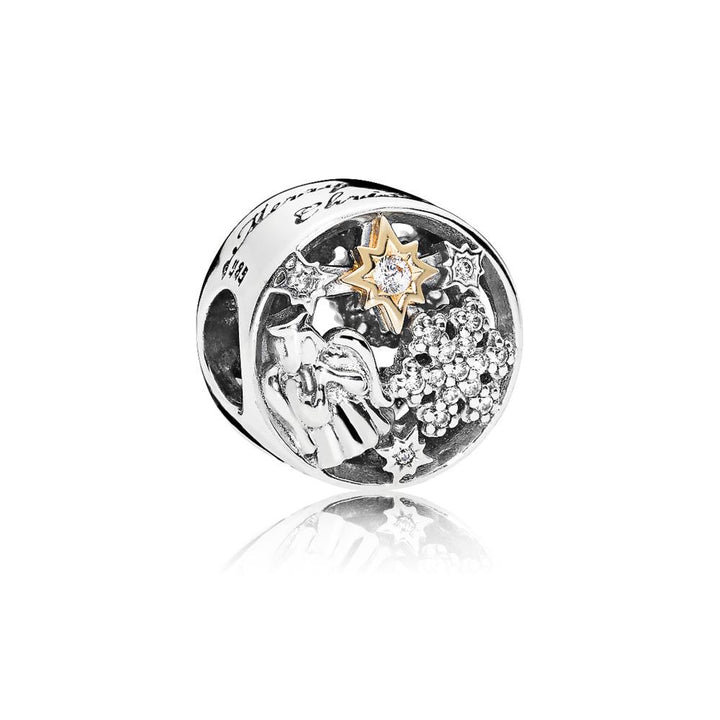Angel, Snowflake and Star Charm in Sterling Silver - Giorgio Conti Jewelers