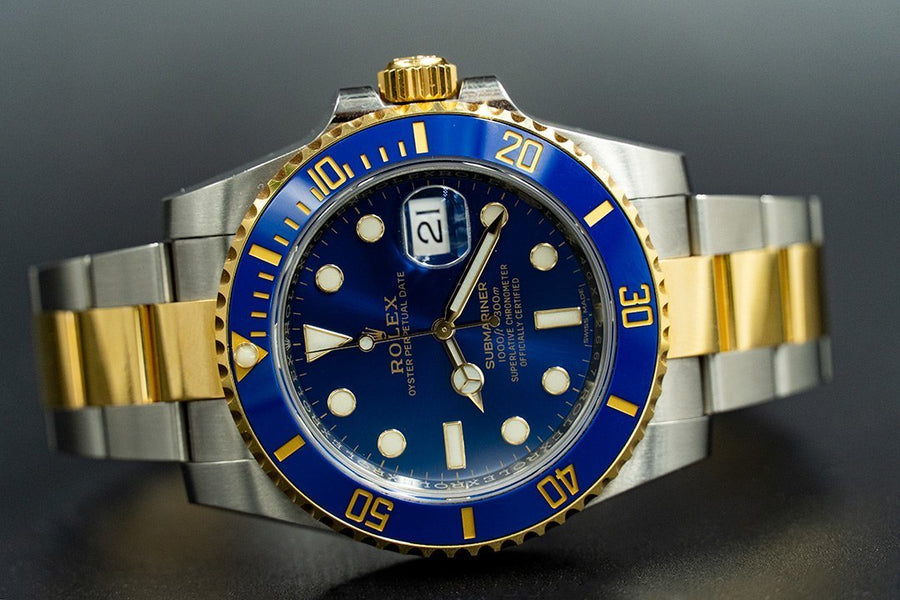 Rolex Submariner Date 116613LB Blue Ceramic Dial 40MM Mens Watch - Giorgio Conti Jewelers