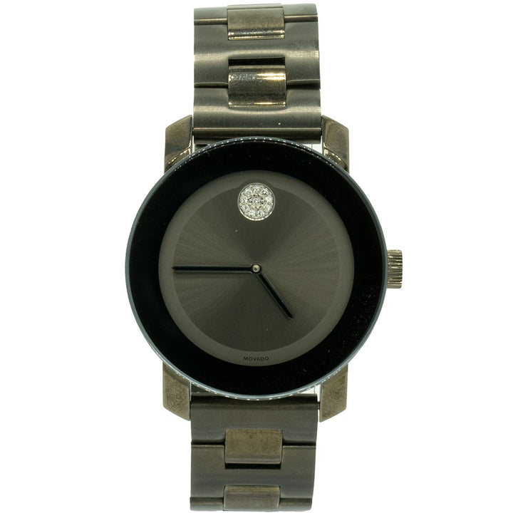 Movado Bold 3600103 36mm Stainless Steel Gray Dial Women's Watch - Giorgio Conti Jewelers