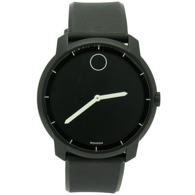 Movado Bold 3600193 44mm Stainless Steel Black Dial Watch - Giorgio Conti Jewelers