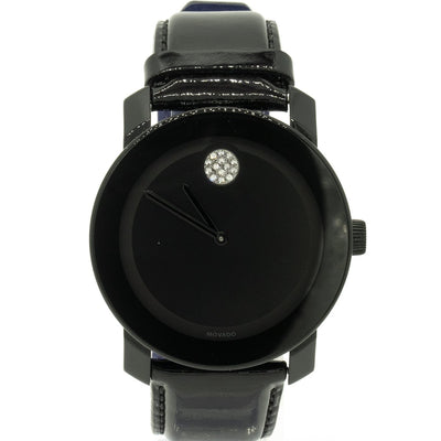 Movado Bold 3600345 42mm Stainless Steel Black Dial Watch - Giorgio Conti Jewelers