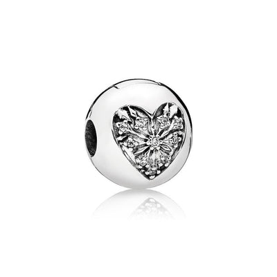 PANDORA Heart of Winter Clip with cz 796388CZ - Giorgio Conti Jewelers