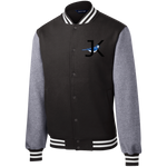 ST270 Fleece Letterman Jacket