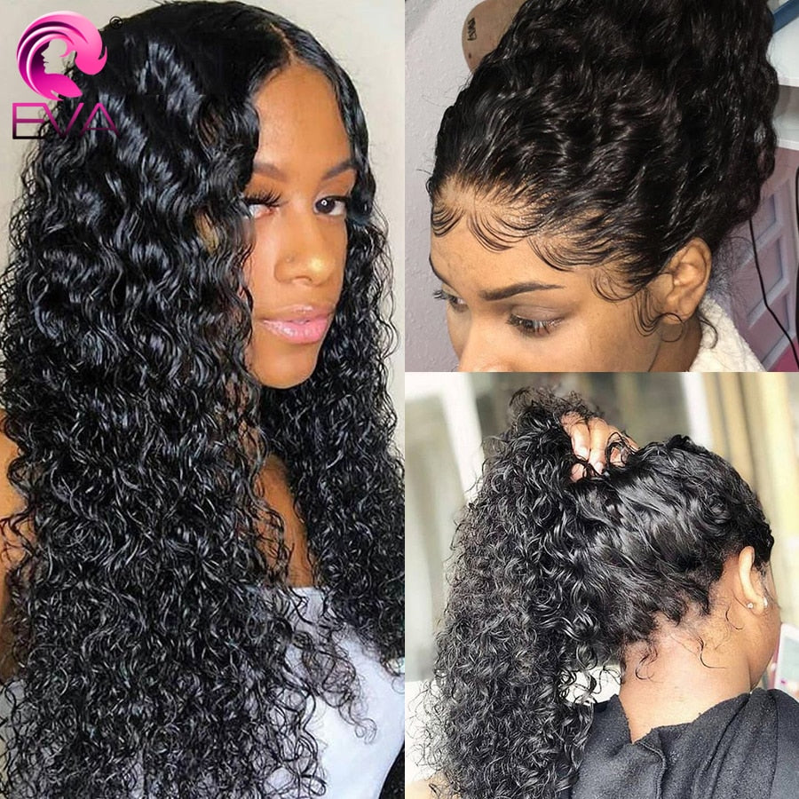 Glueless Brazilian Curly Lace Pre Plucked