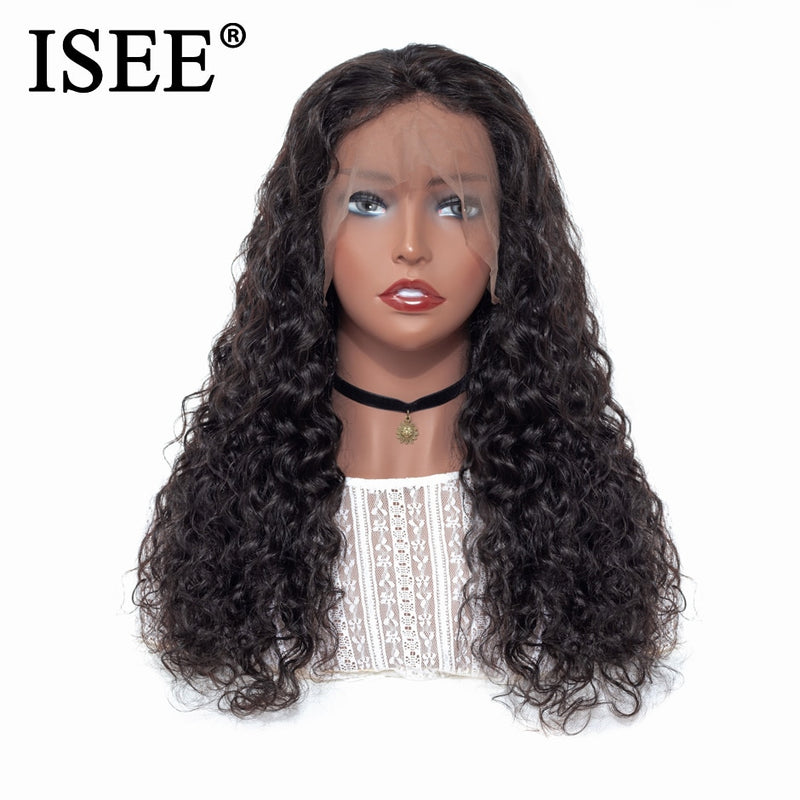 Peruvian Lace Wigs  13X4 Water Wave Wig