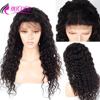 13x6 Brazilian Water Wave  Lace Frontal Wig Lace Front Human Hair
