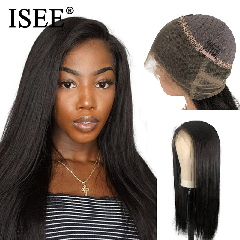 Malaysian Straight 360 Lace Frontal Wig