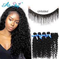 Malaysian Water Wave Hair 4 Bundles