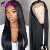 Straight Lace Front Human Hair Wigs