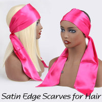 Satin Edge Scarves