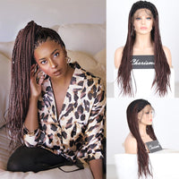 Free Part Braided Wig