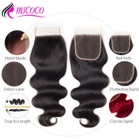 Brazilian Body Wave Bundles With Closure