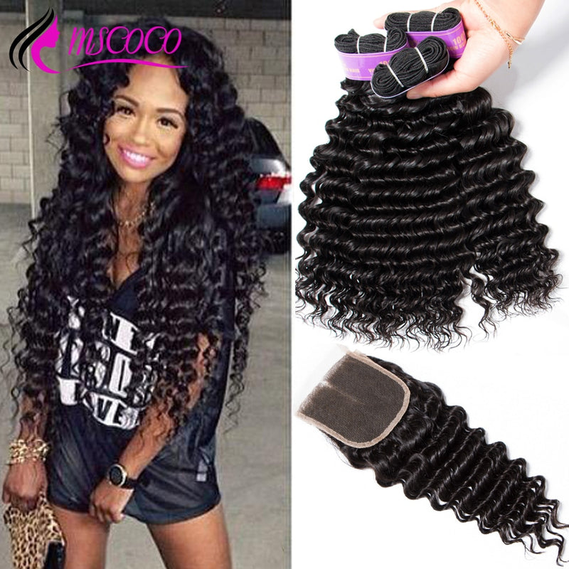 Brazilian Deep Wave Bundles With Closure